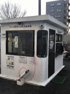 南大塚駅南口自転車駐車場防犯カメラ1